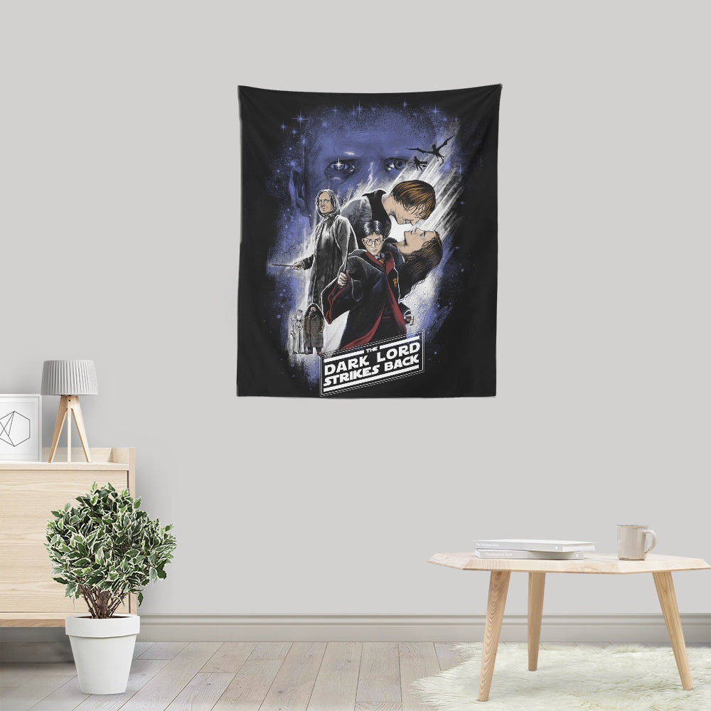Dark Lord Strikes Back - Wall Tapestry