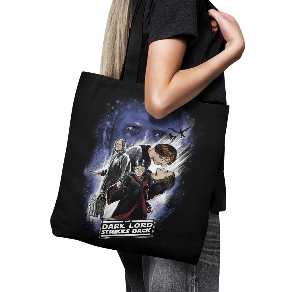 Dark Lord Strikes Back - Tote Bag
