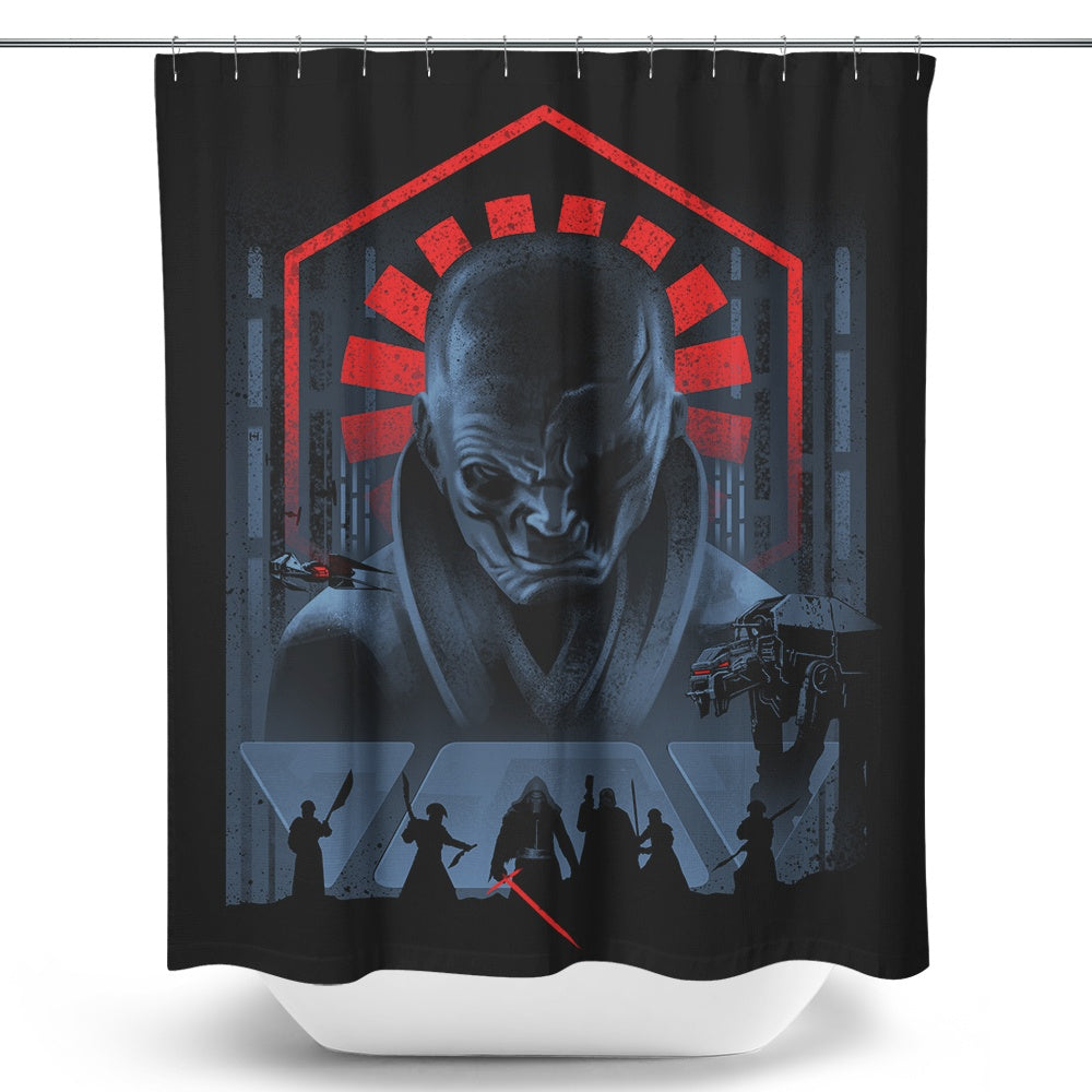 Dark Power - Shower Curtain
