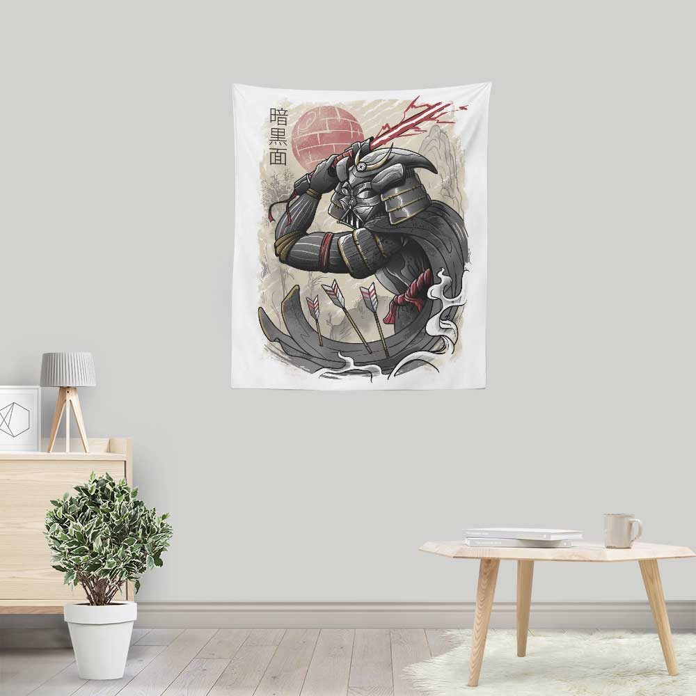 Dark Samurai - Wall Tapestry