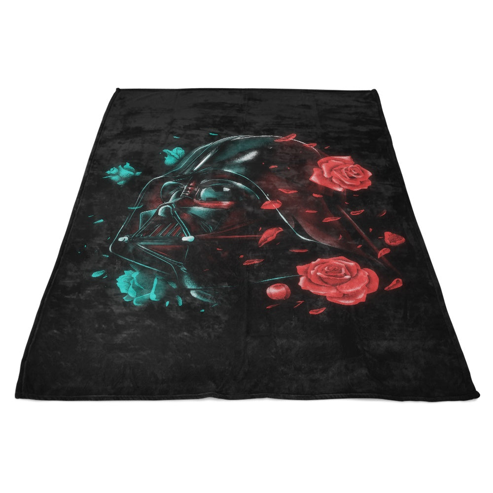 Dark Side of the Bloom - Fleece Blanket
