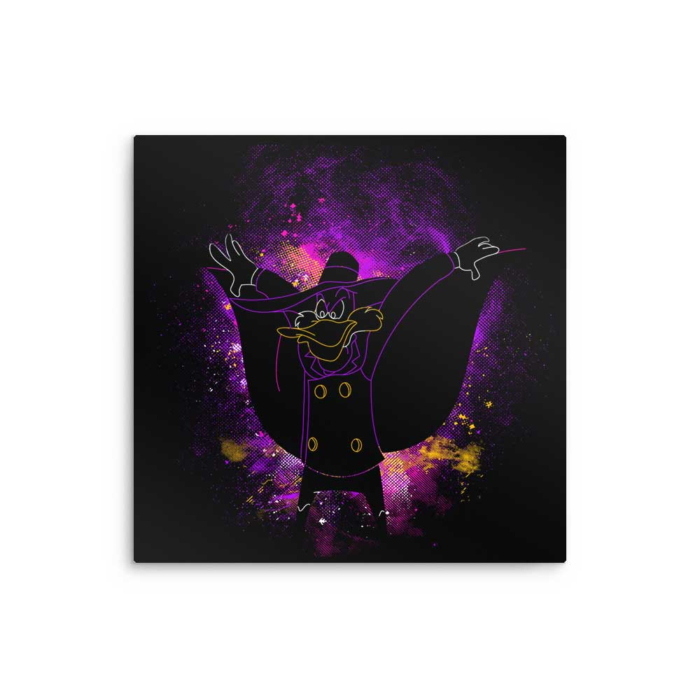 Darkwing Art - Metal Print