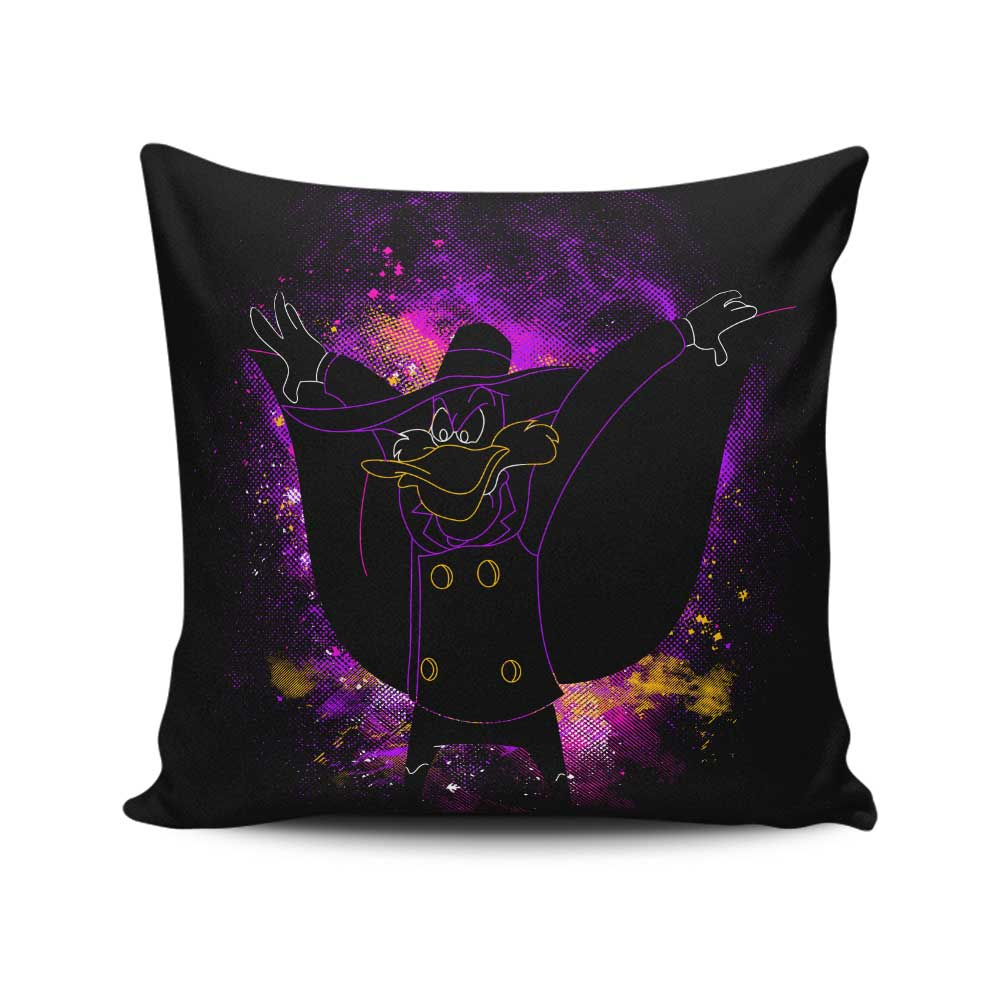 Darkwing Art - Throw Pillow
