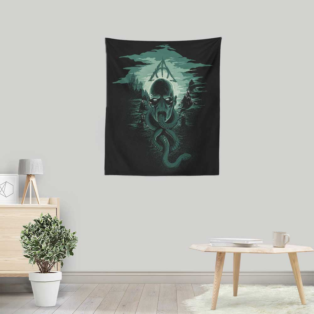 Deadly Moon - Wall Tapestry