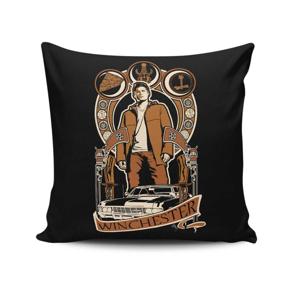 Dean Nouveau - Throw Pillow