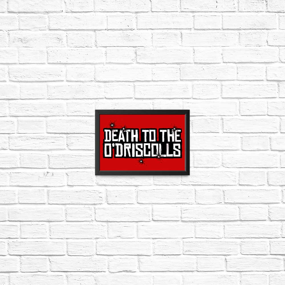Death to the Gang - Posters & Prints
