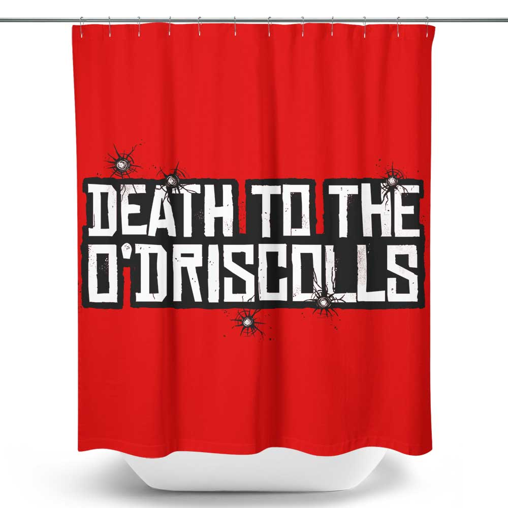 Death to the Gang - Shower Curtain