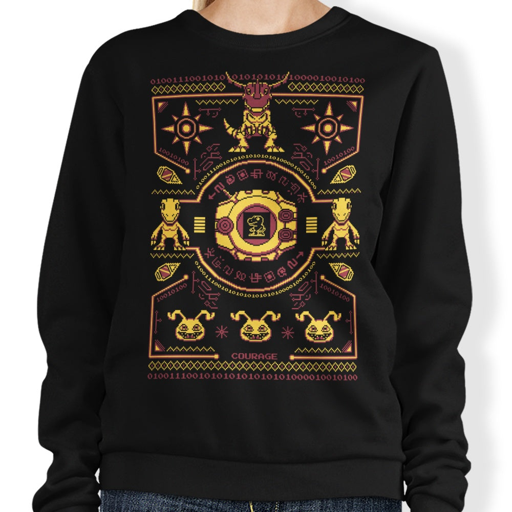 Digital Courage Sweater - Sweatshirt