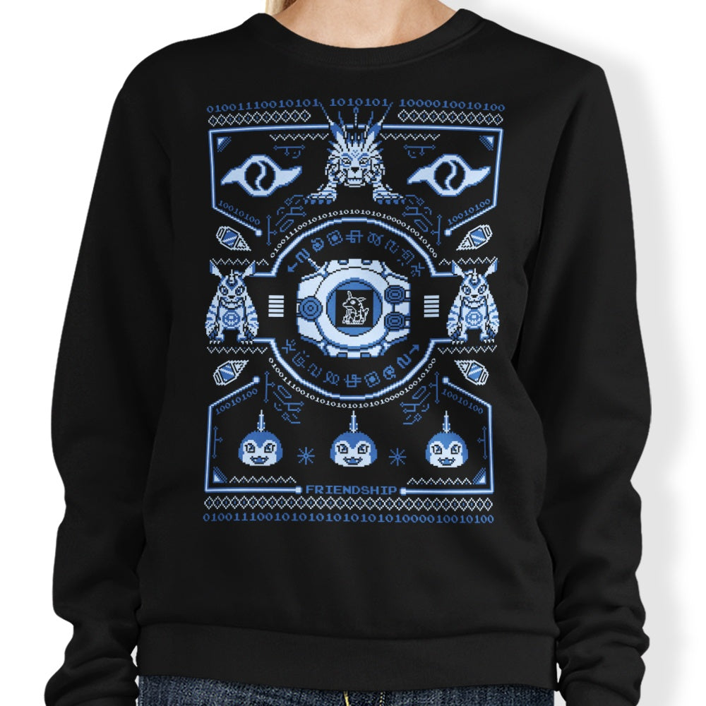 Digital Friendship Sweater - Sweatshirt