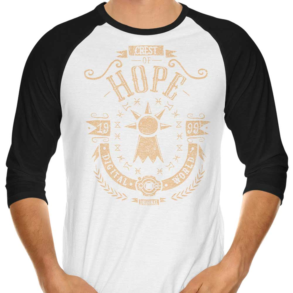 Digital Hope - 3/4 Sleeve Raglan T-Shirt