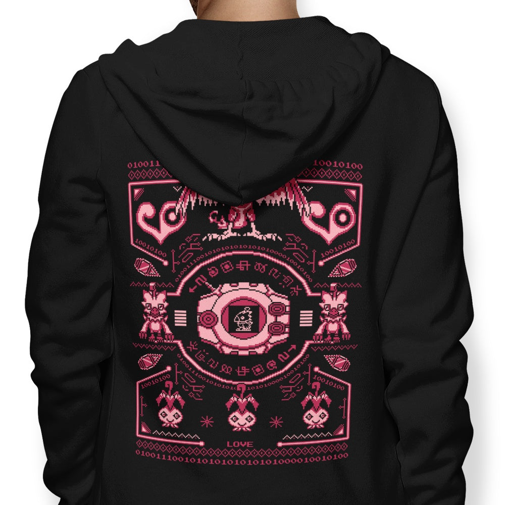 Digital Love Sweater - Hoodie