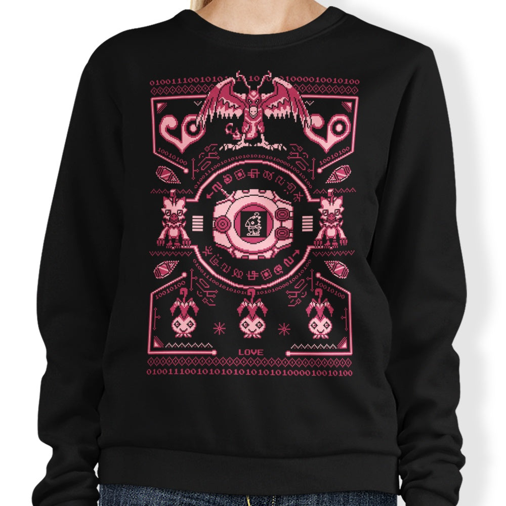 Digital Love Sweater - Sweatshirt