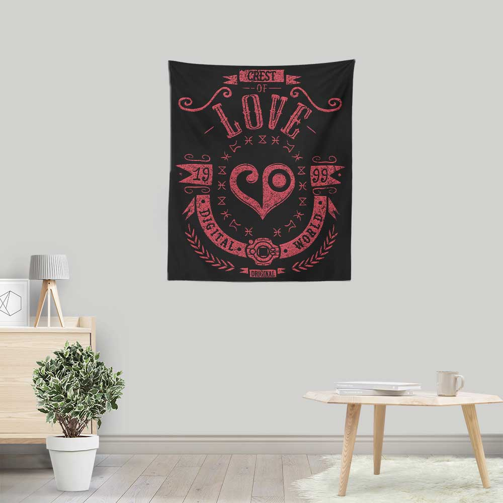 Digital Love - Wall Tapestry