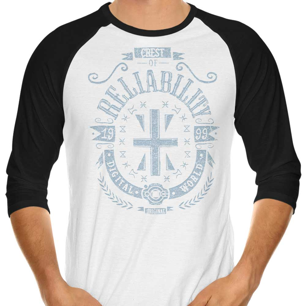 Digital Reliability - 3/4 Sleeve Raglan T-Shirt