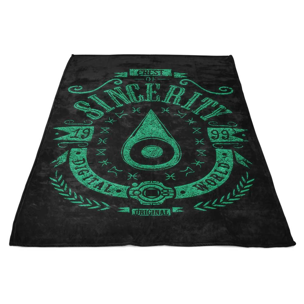 Digital Sincerity - Fleece Blanket
