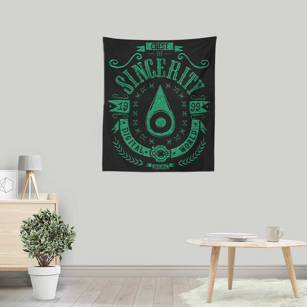Digital Sincerity - Wall Tapestry