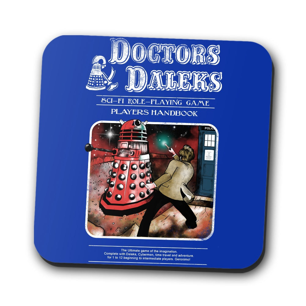 Doctors and Daleks - Coasters