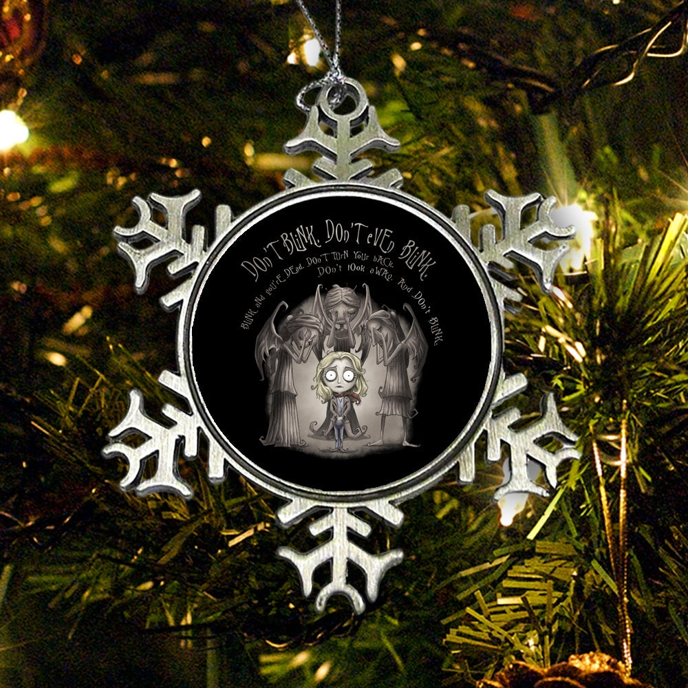 Don't Blink - Ornament