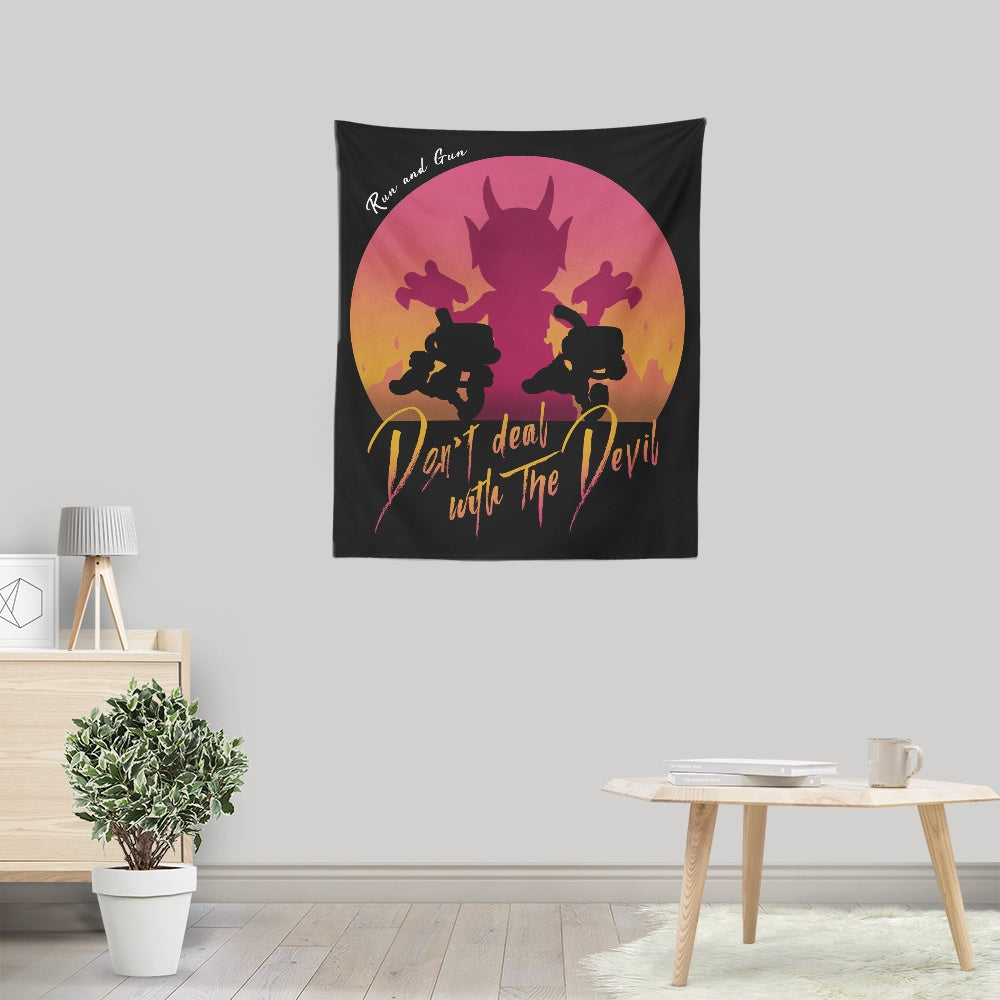 Don't Deal with the Devil - Wall Tapestry