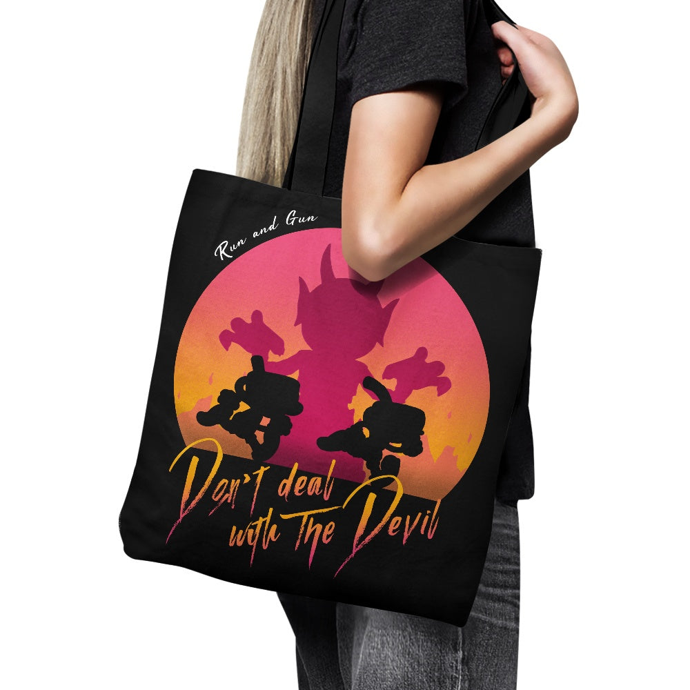 Don't Deal with the Devil - Tote Bag