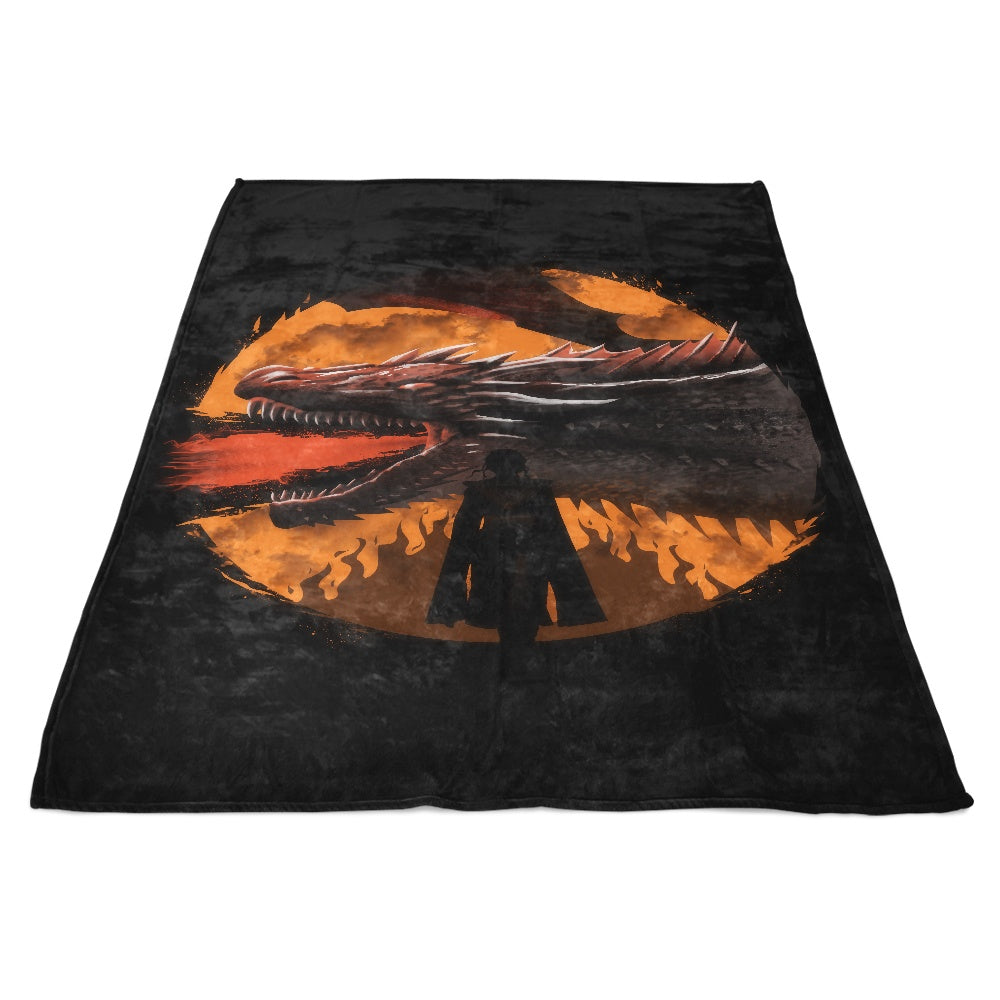 Dracarys (Alt) - Fleece Blanket