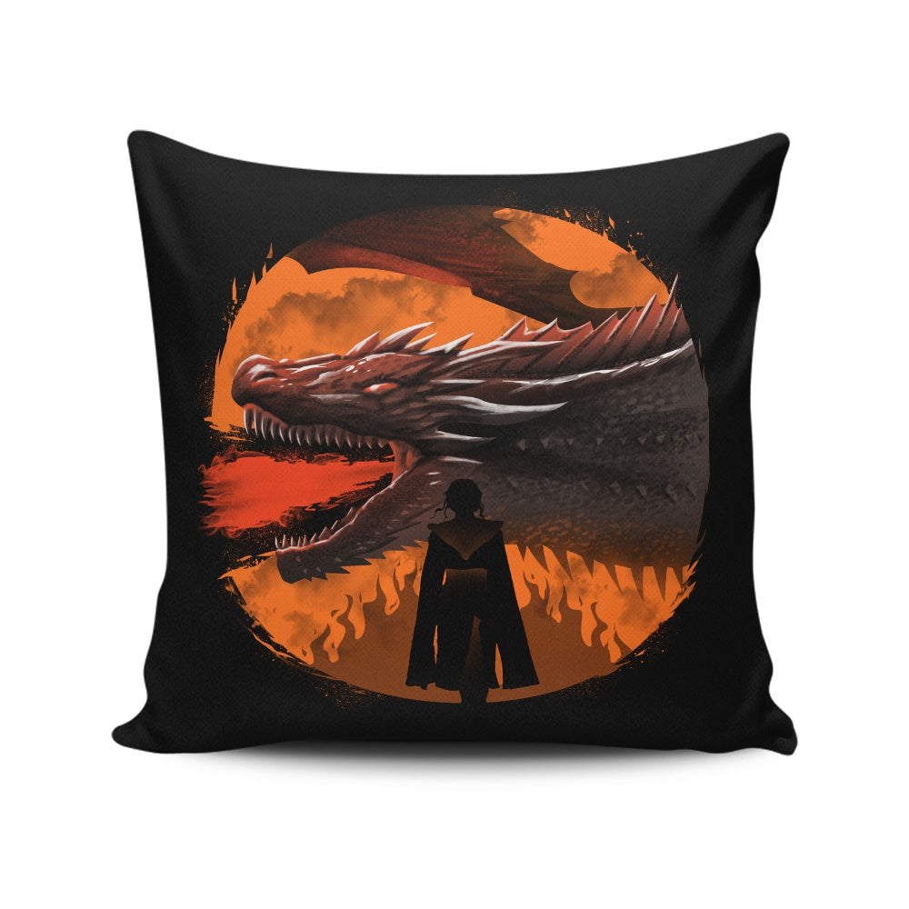 Dracarys (Alt) - Throw Pillow