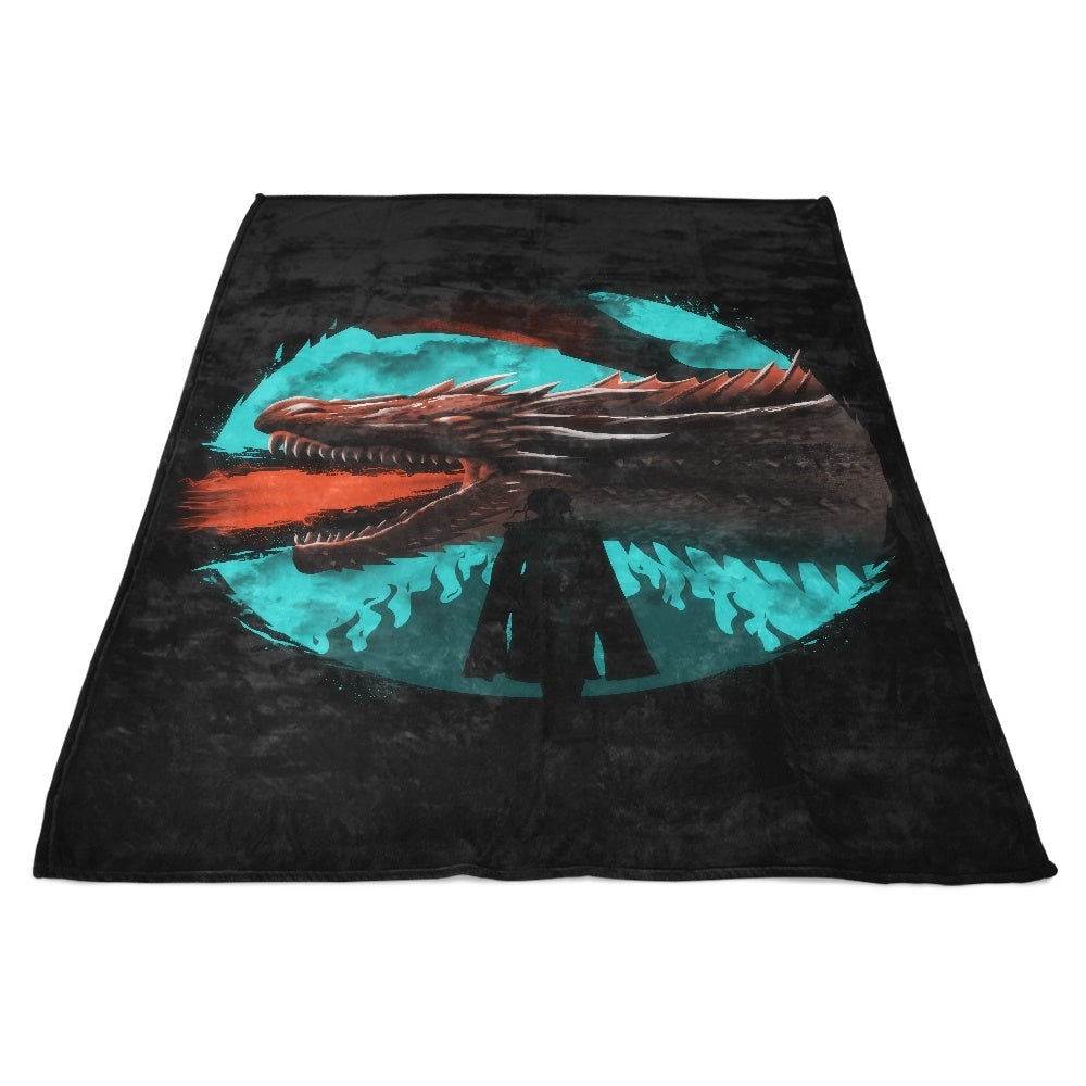 Dracarys - Fleece Blanket