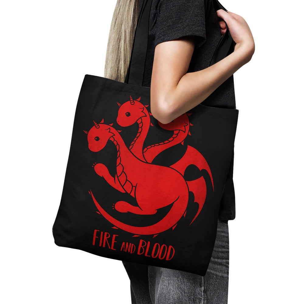 Dragon Kawaii - Tote Bag