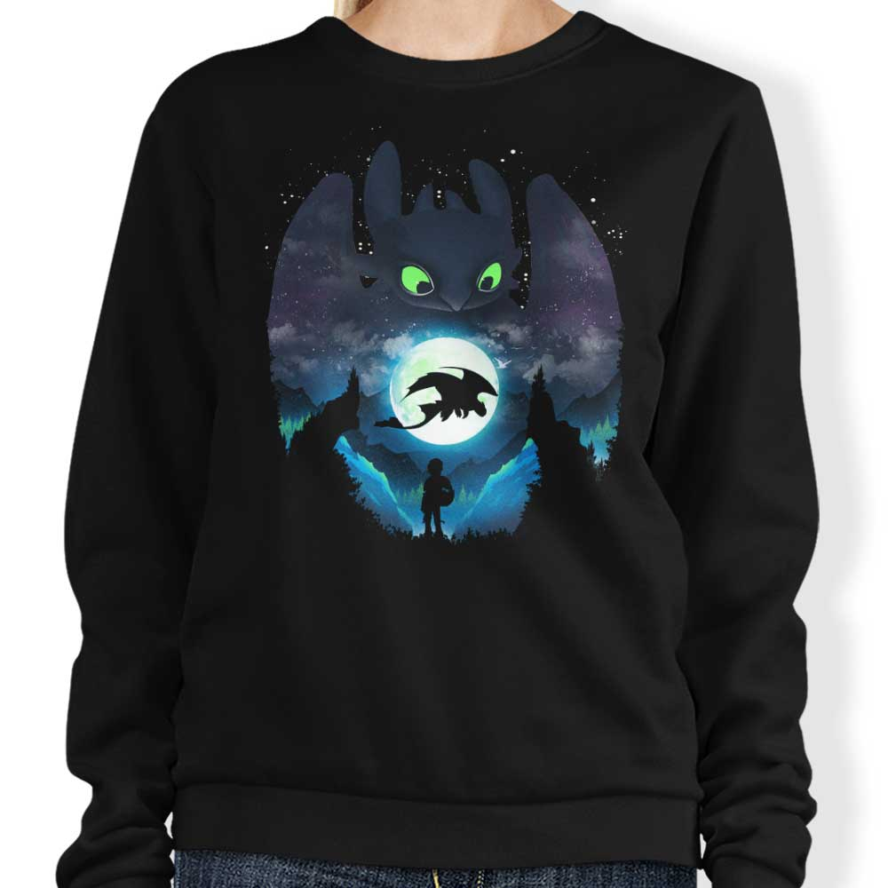 Dragon Sunset - Sweatshirt