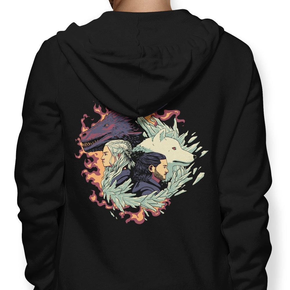 Dragons and Wolves - Hoodie