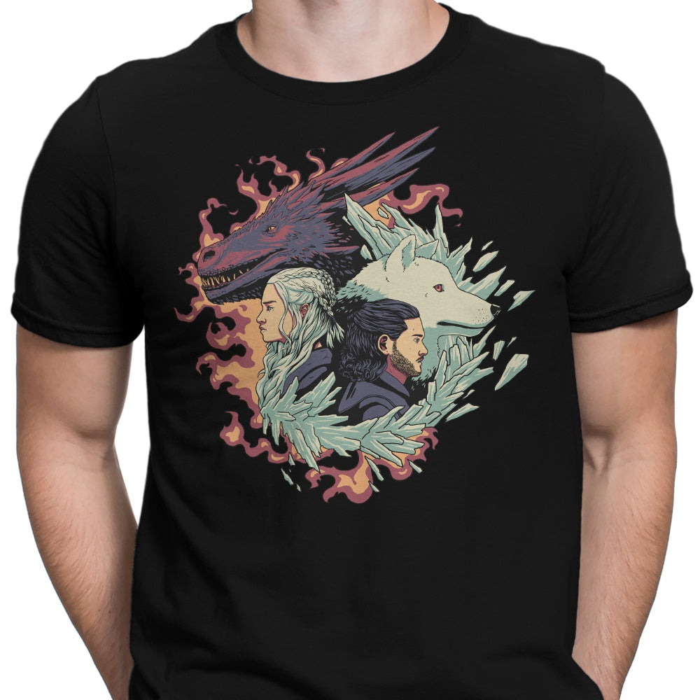 Dragons and Wolves - Men's Apparel