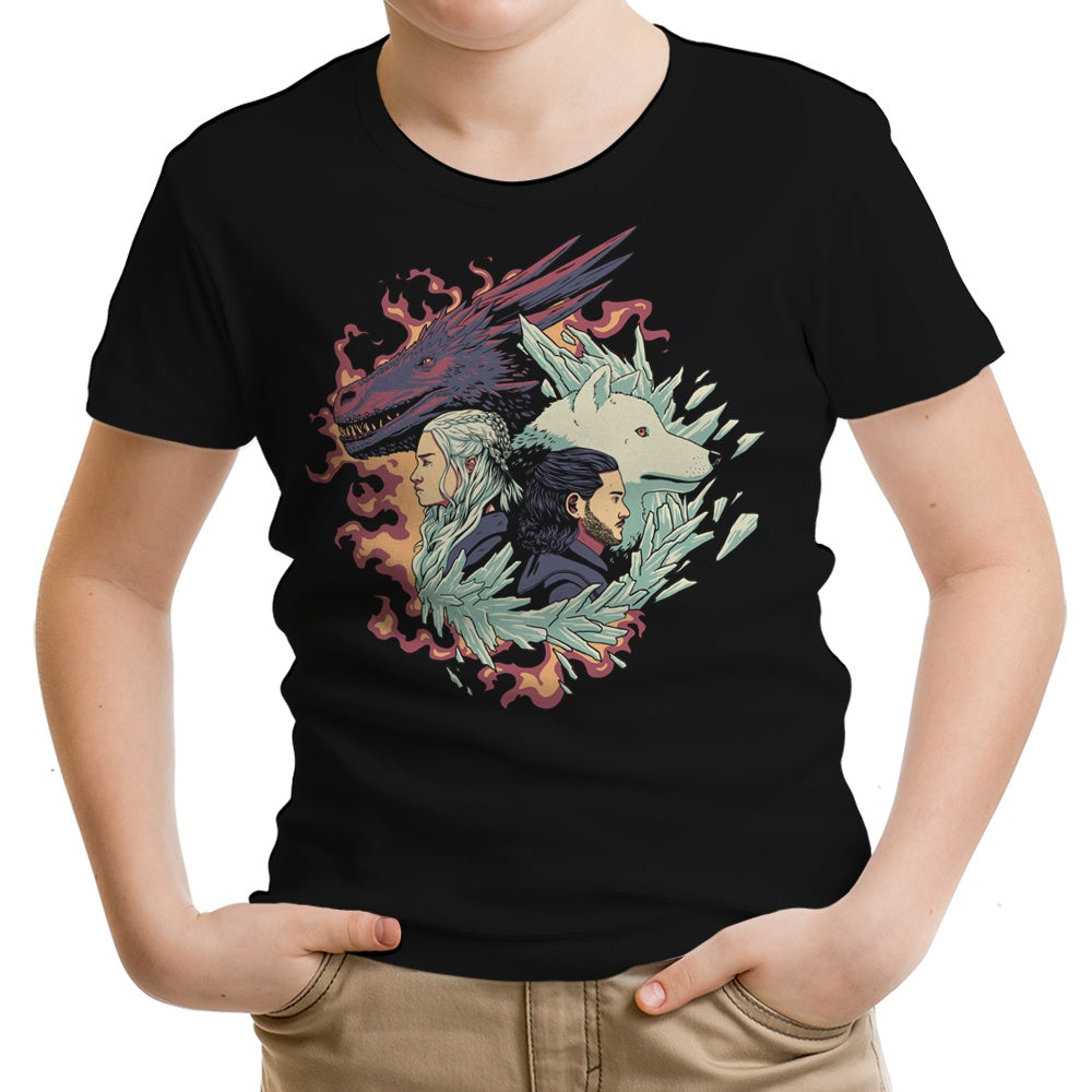 Dragons and Wolves - Youth Apparel