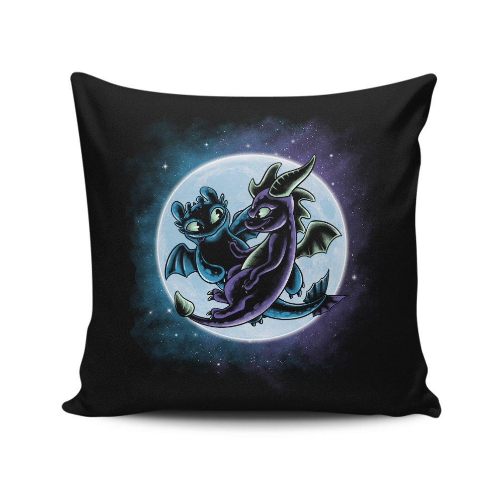 Dragon's Playground - Throw Pillow