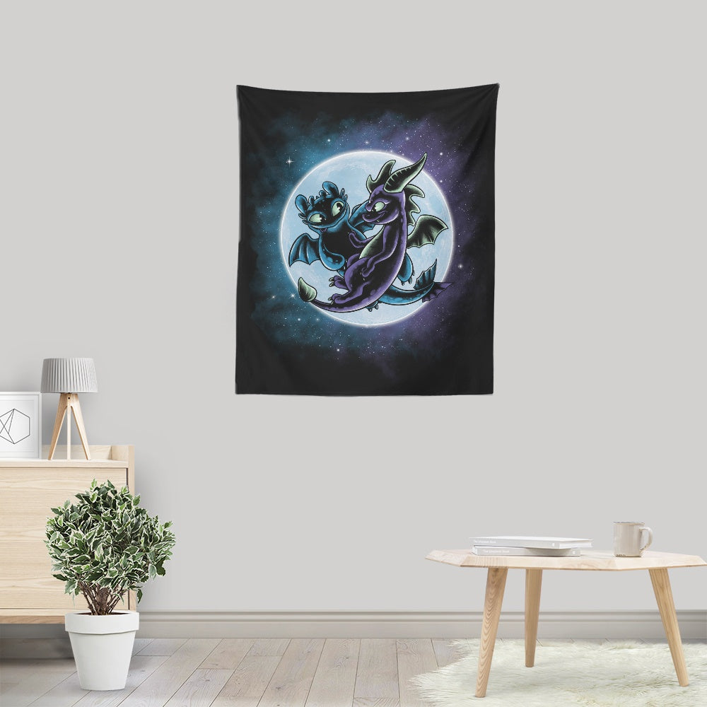 Dragon's Playground - Wall Tapestry