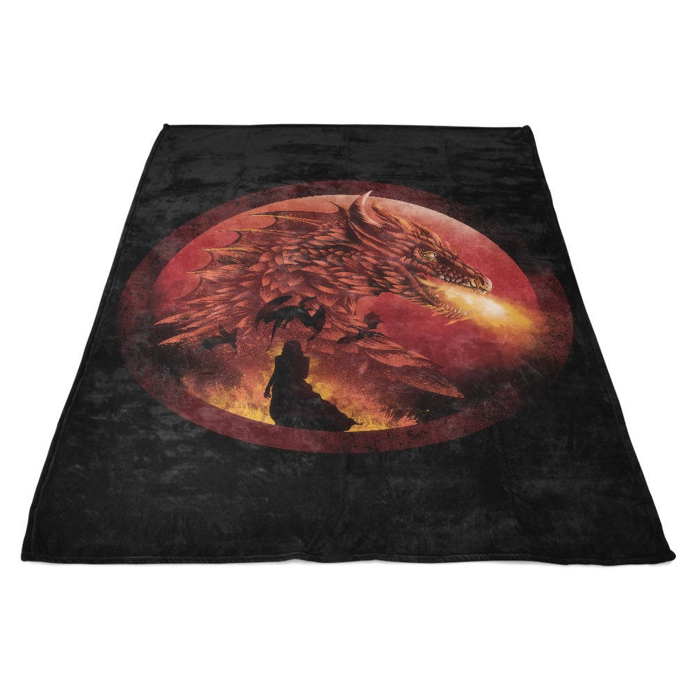 Dragonstone - Fleece Blanket