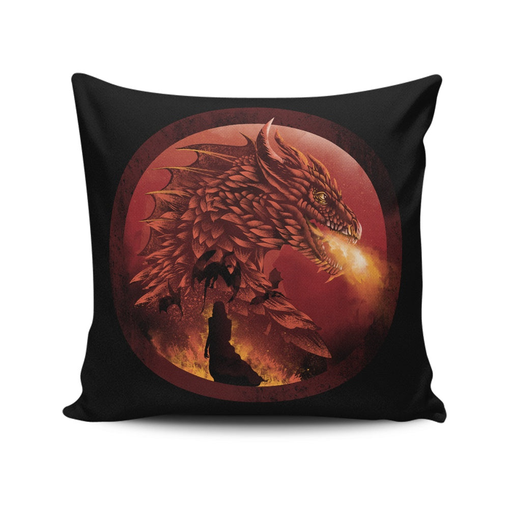 Dragonstone - Throw Pillow