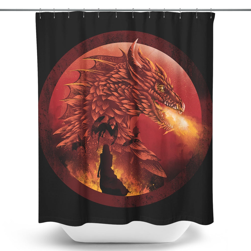 Dragonstone - Shower Curtain