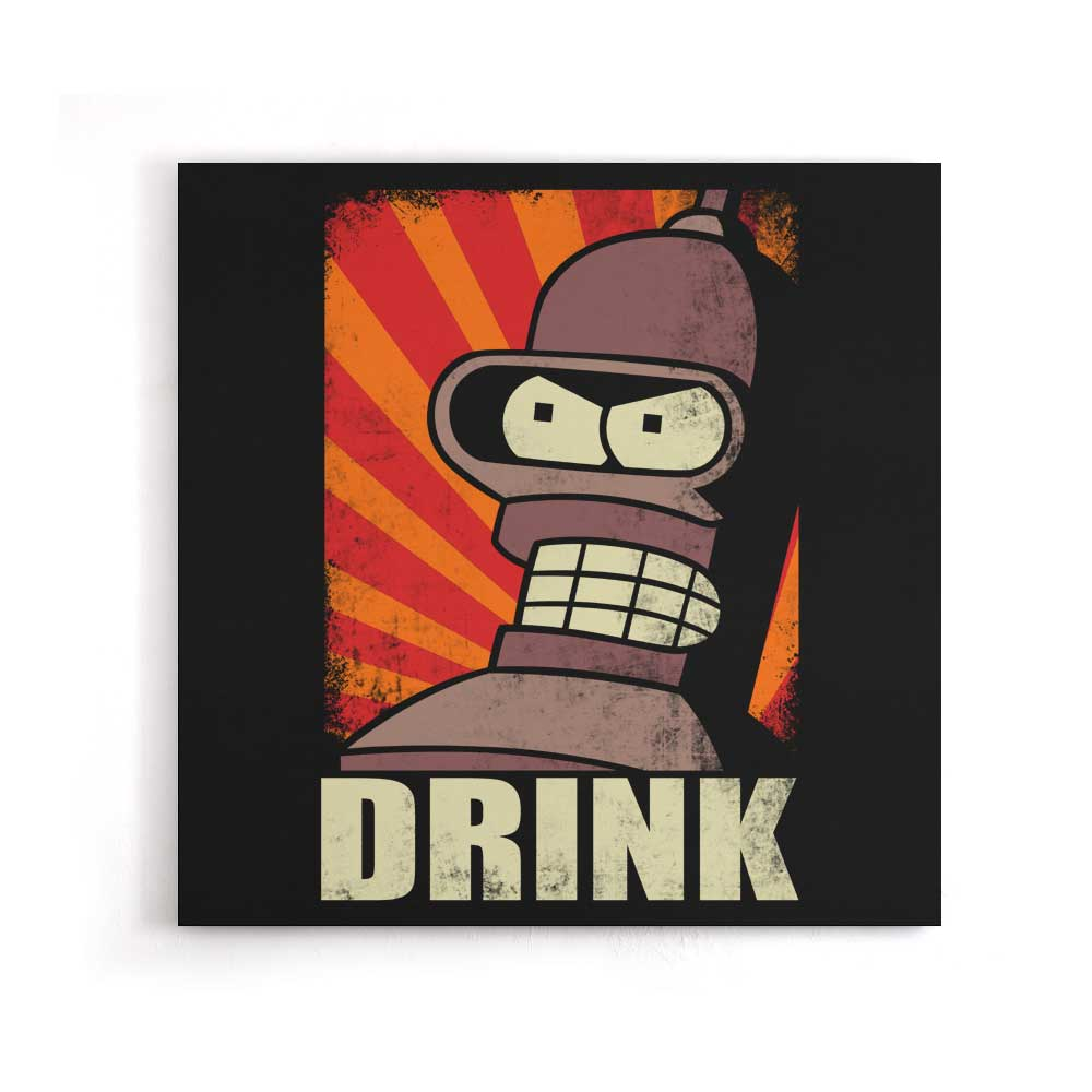 Drink - Canvas Print