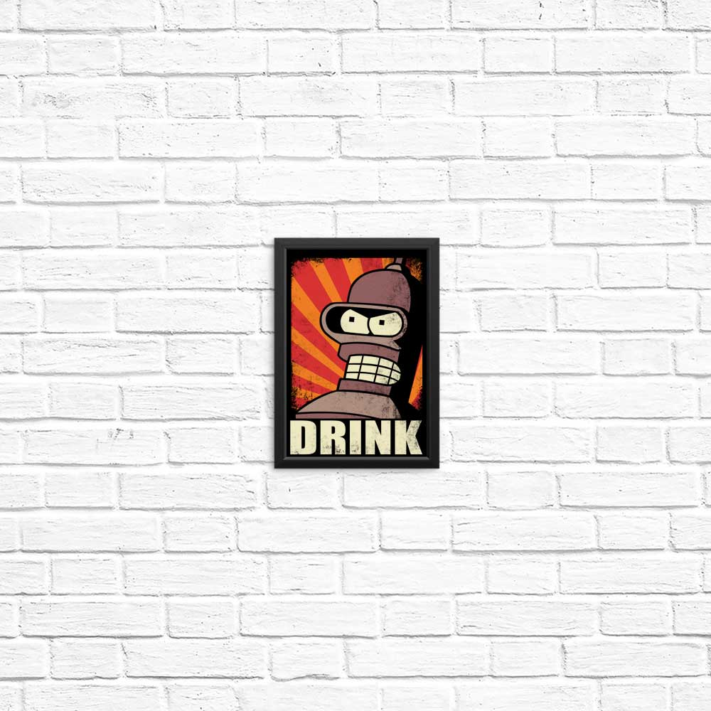 Drink! - Posters & Prints