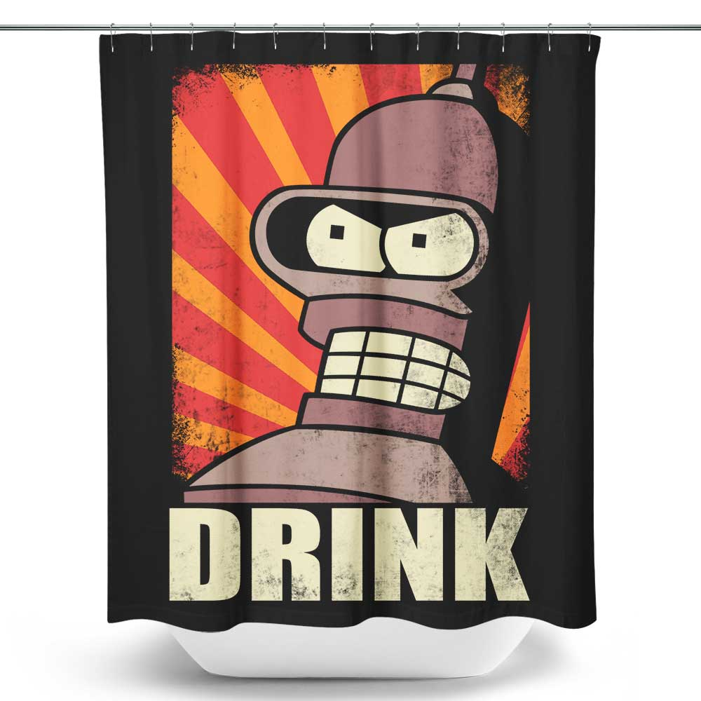 Drink - Shower Curtain