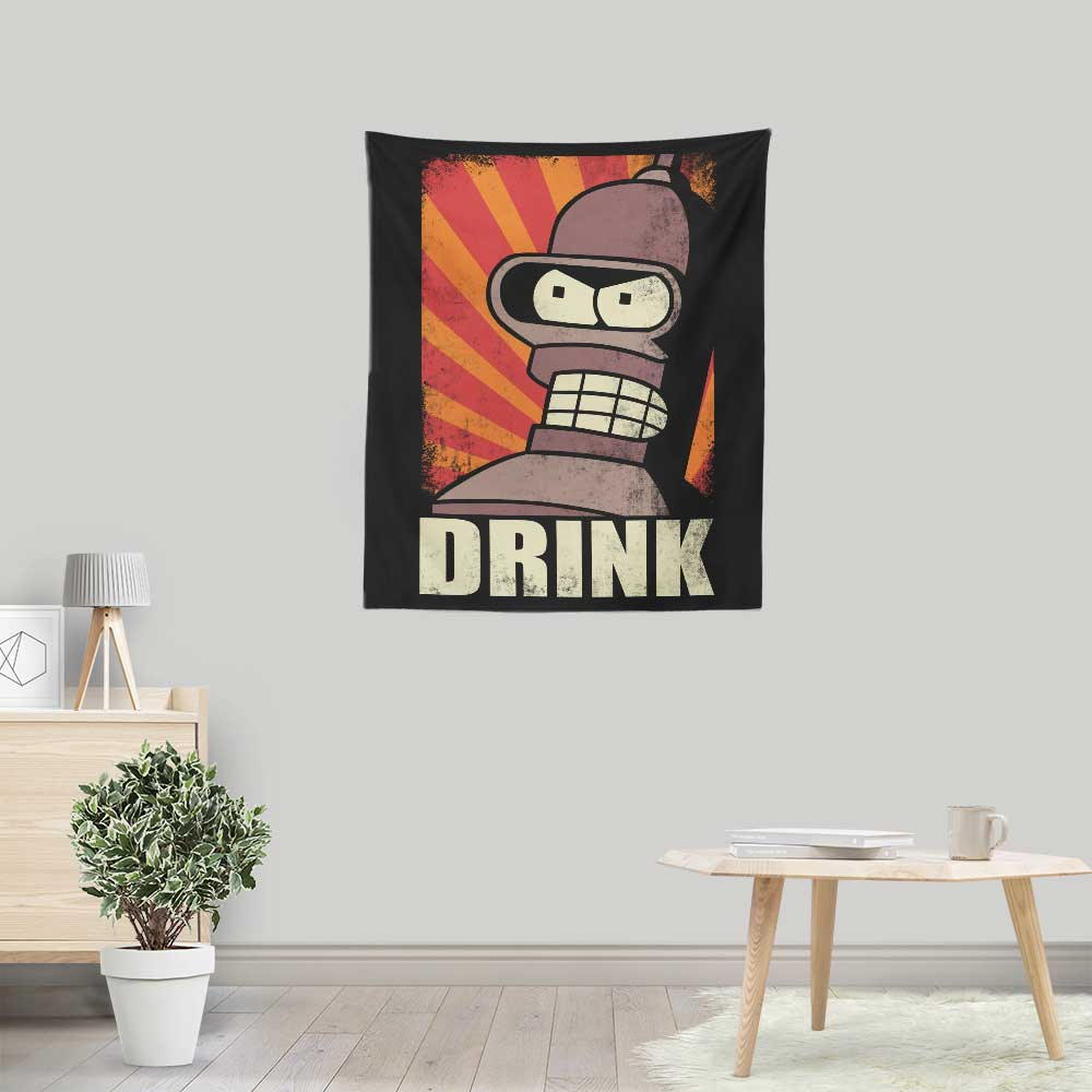 Drink! - Wall Tapestry