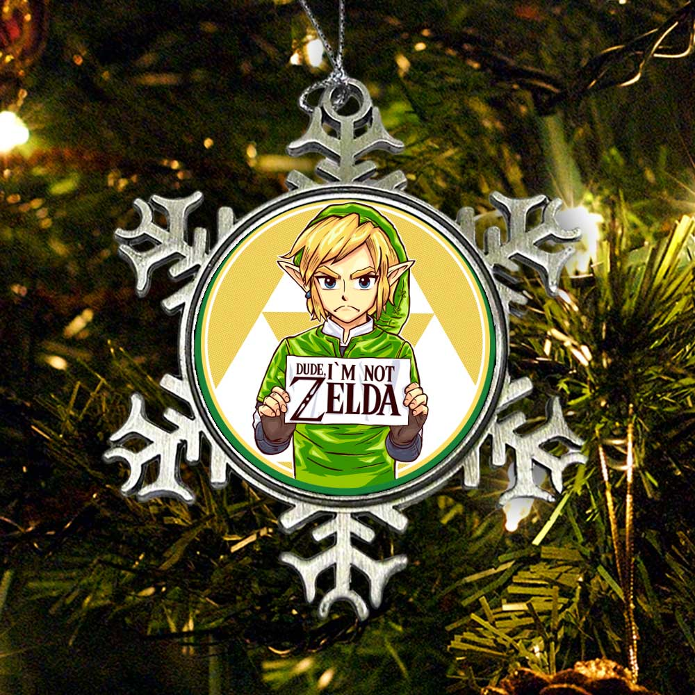 Dude, I'm Not Zelda - Ornament