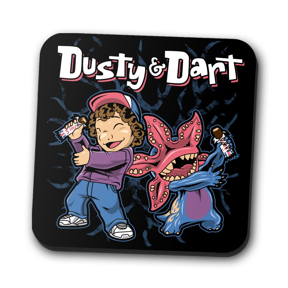 Dusty and Dart - Coasters