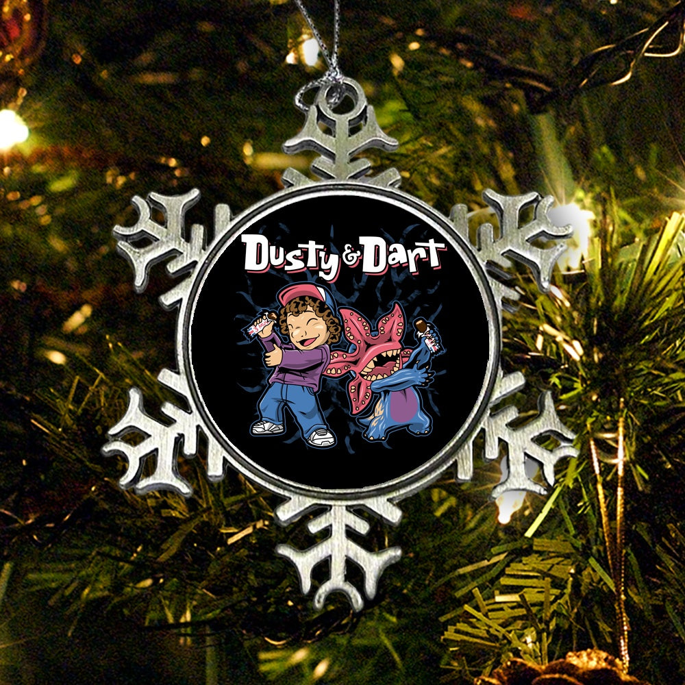 Dusty and Dart - Ornament
