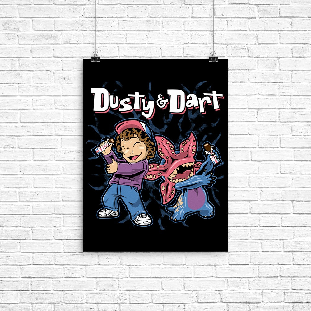 Dusty and Dart - Poster