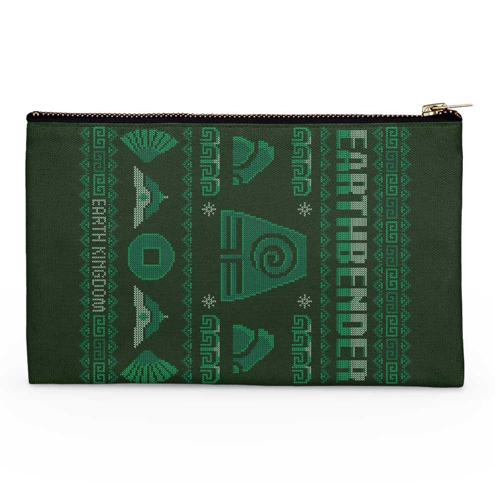 Earth Kingdom's Sweater - Accessory Pouch