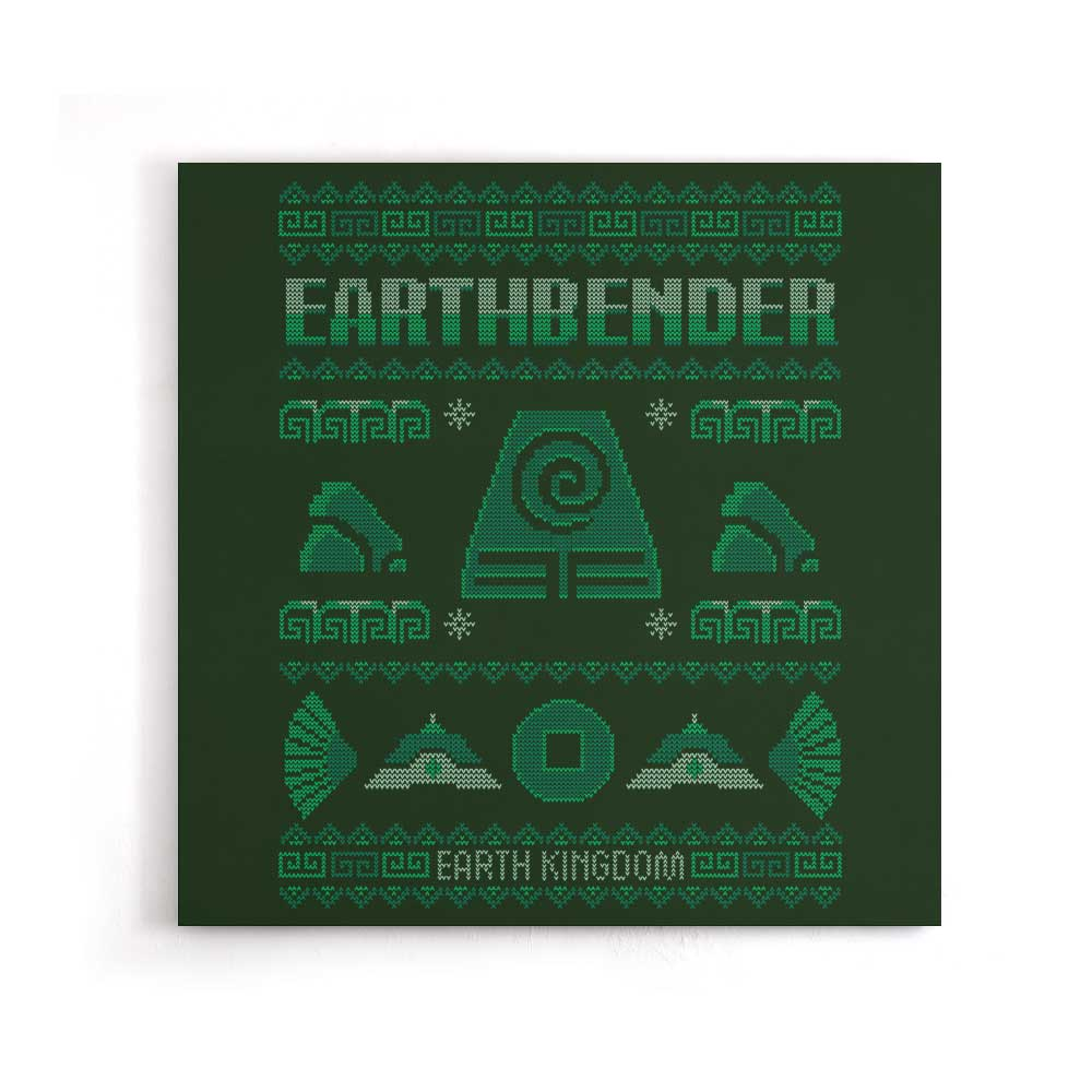 Earth Kingdom's Sweater - Canvas Print