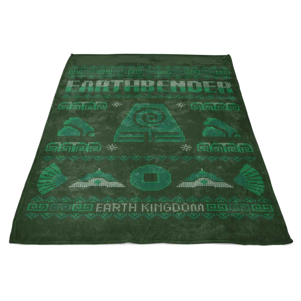 Earth Kingdom's Sweater - Fleece Blanket
