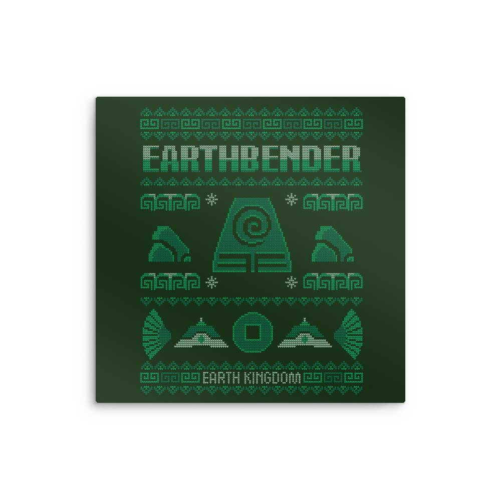 Earth Kingdom's Sweater - Metal Print