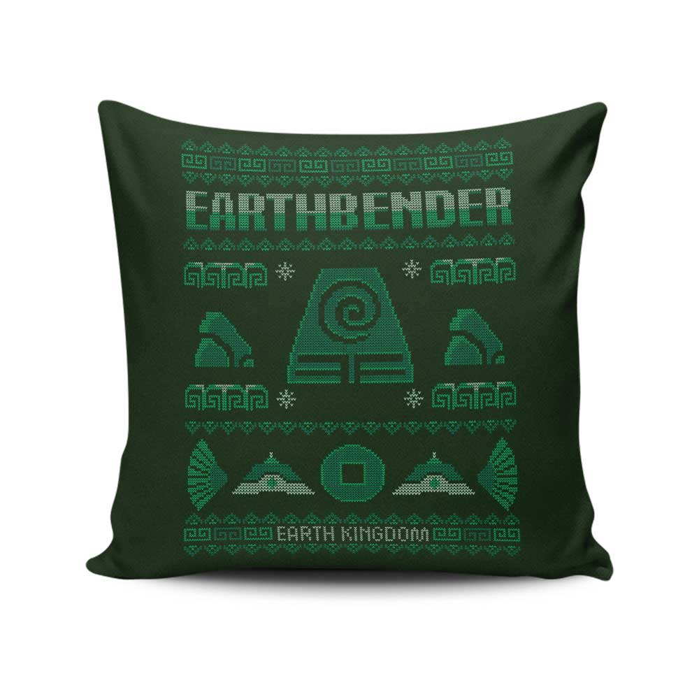 Earth Kingdom's Sweater - Throw Pillow